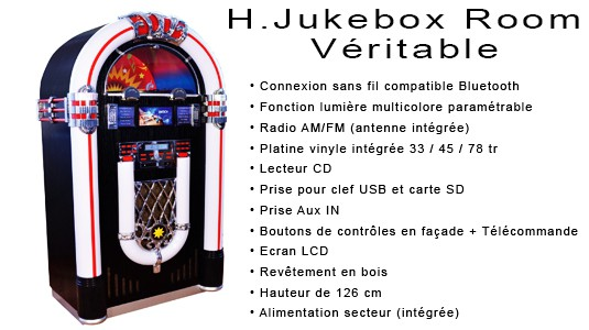 Jukebox compatible Bluetooth - H.Jukebox Room